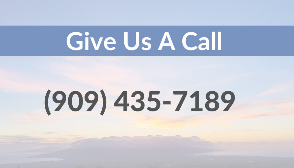 Give Us a Call : 909-435-7189